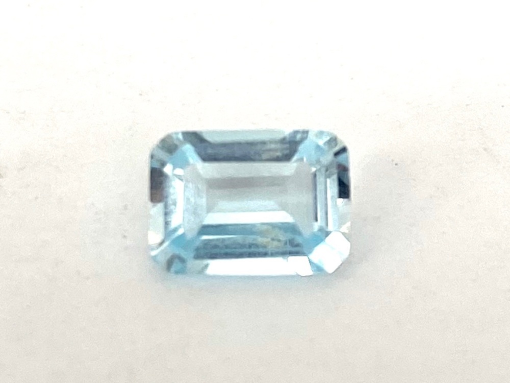 Aquamarine     1.13cts   7.2mm x 5.2mm   Aqu018