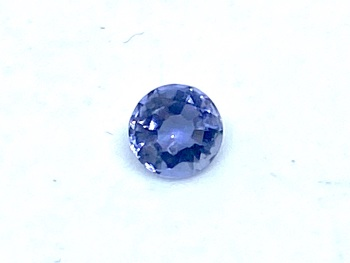 Tanzanite  Round  0.26cts  4.2mm    Tan001