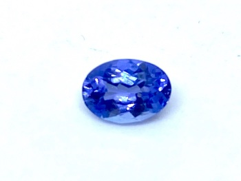 Tanzanite  Oval  0.73cts  7mm x 5mm   Tan003