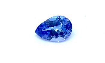 Tanzanite  Drop  0.84cts  7.4mm x 5mm   Tan005