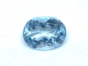 Aquamarine  Oval  1.70cts    9mm x 7mm   Aqu025