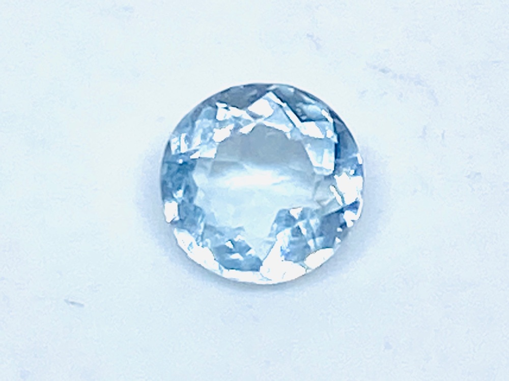 Aquamarine Round 6mm  0.60cts      Aqu045