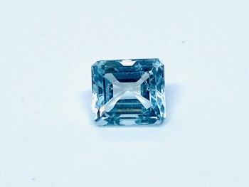 Aquamarine  Trap Cut  1.51cts   7mm x 6mm   Aqu053