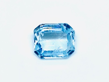 Aquamarine  Trap Cut  1.20cts   6mm x 4mm   Aqu059
