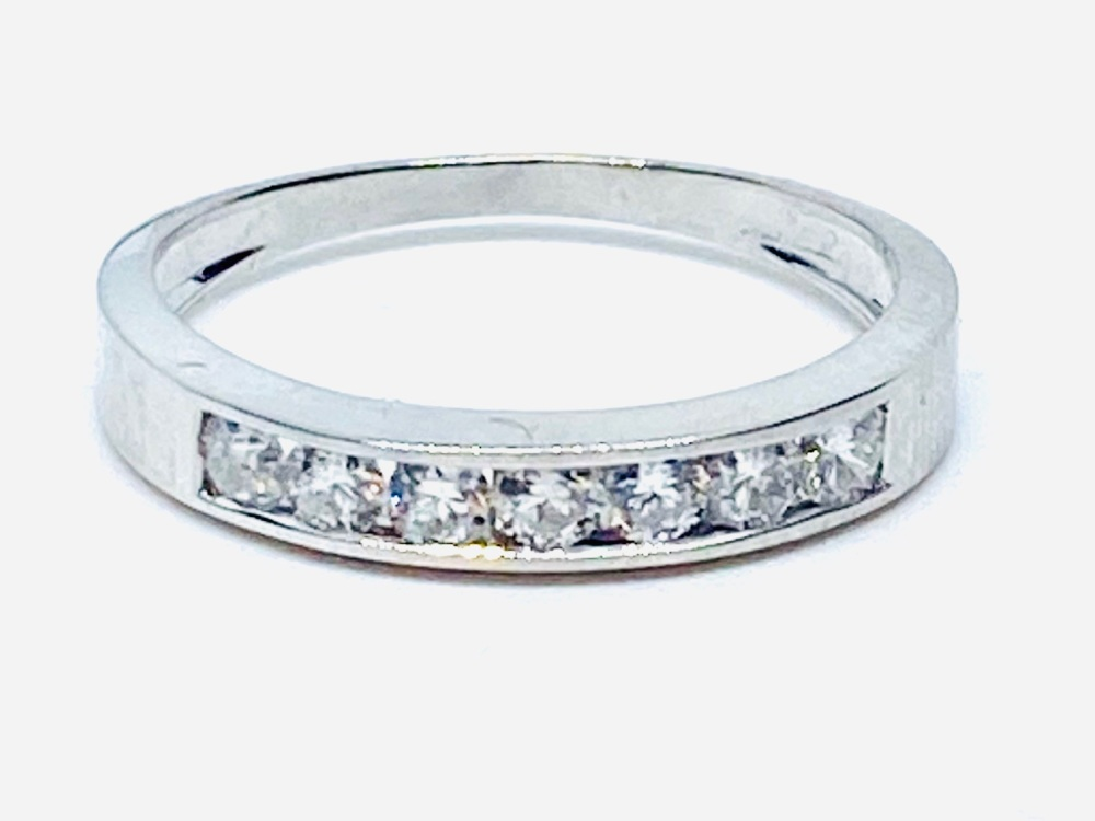 New Product Diamond Eternity ring in White Gold   (06)