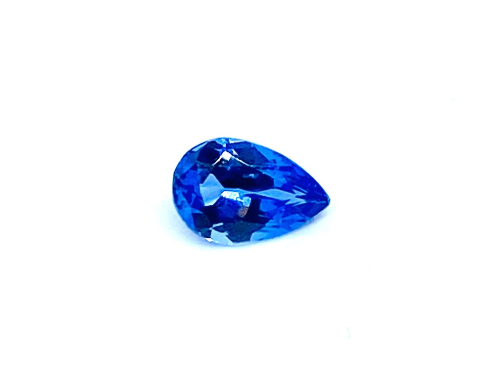 Tanzanite  Drop  0.56cts  6.8mm x 4.5mm   Tan012