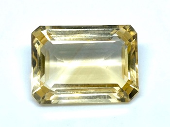 Citrine Emerald Cut 10.05cts   16mm x 11.6mm  Cit016