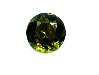 Tourmaline Green   8mm Round   1.43ct   Tou037