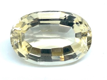 Citrine Bootlace Oval  15.46cts  20mm x 13.mm Cit017