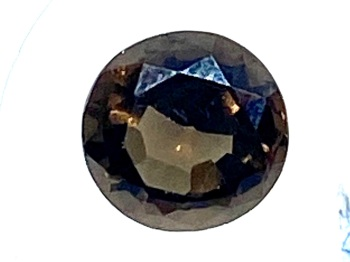 Tourmaline Brown   6.5mm round  0.83cts Tou040