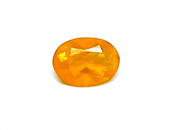 Fire Opal Oval  0.78cts  8mm x  7.5mm    Opa072