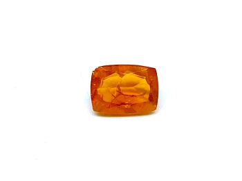 Fire Opal Cushion  0.97cts  8mm x  6mm    Opa073