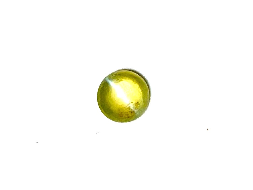 Chrysoberyl Cats Eye  Round  4.6mm     0.49cts    Chr007