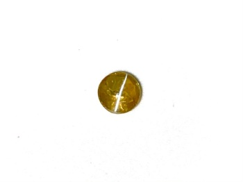 Chrysoberyl Cats Eye  Round  4.1mm     0.41cts    Chr014