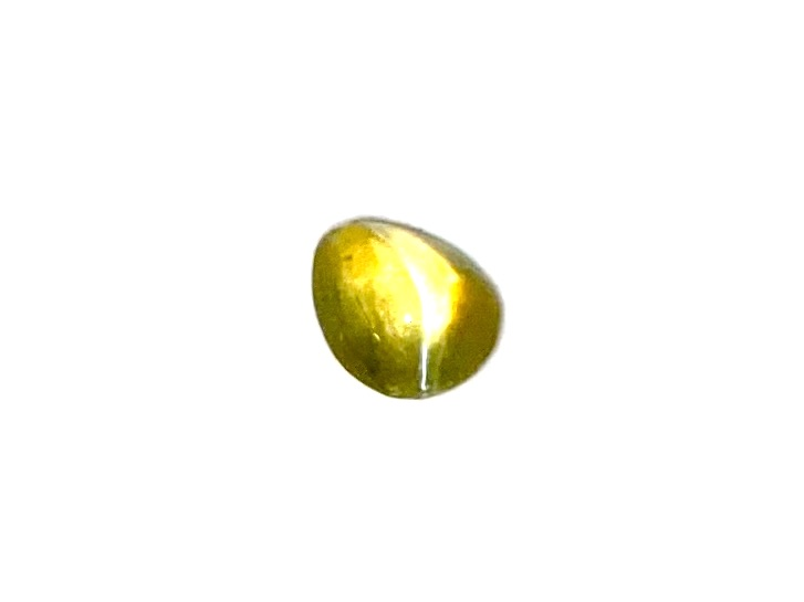 Chrysoberyl Cats Eye Drop  5.5mm x 4.5mm     0.63cts    Chr018