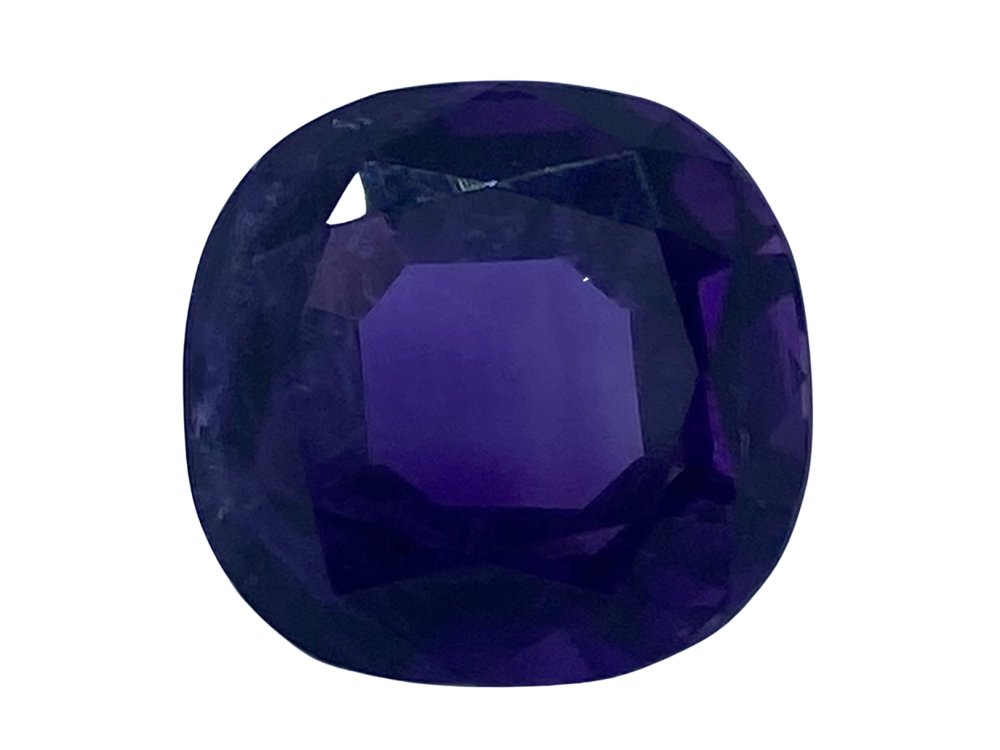 Amethyst Cushion 5.98cts 11.2mm x 10.8mm  Amy0009