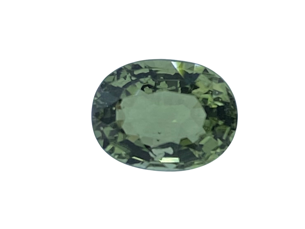 Tourmaline Green   8mm x 6mm   1.46cts   Tou061