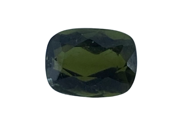 Tourmaline Green Cushion 0.63ct  6mm x 4.5mm  Tou060