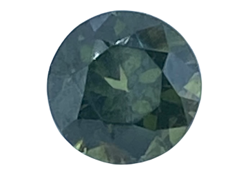 Green Zircon Round 8.3mm   2.85cts   Zir002