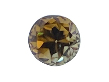 Golden Zircon Round 7.7mm   3.23cts   Zir005