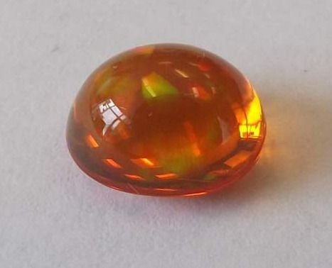 Fire Opal Oval  2.17cts  9mmx 8mm