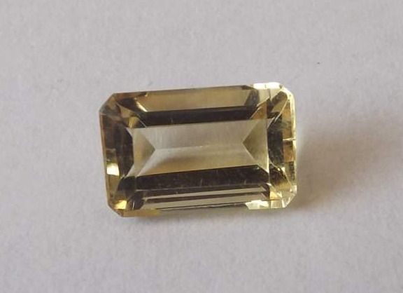 Citrine Emerald Cut 2.19cts   9mm x 6mm
