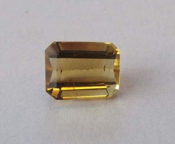 Citrine Emerald Cut 2.59cts   9mm x 7mm W00419