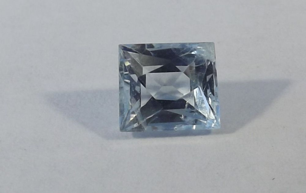 Aquamarine  Square 1.44cts  7mm x 6.2mm