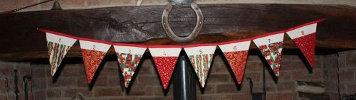Christmas Advent Bunting Workshop