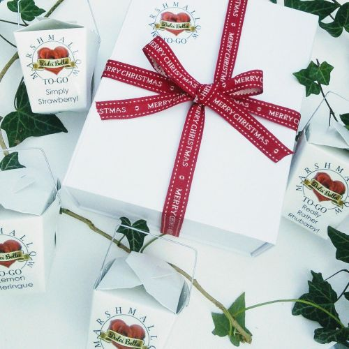 Christmas Gourmet Marshmallow Gift Box.