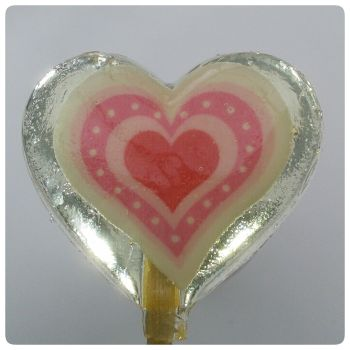 Love Heart Lollipop