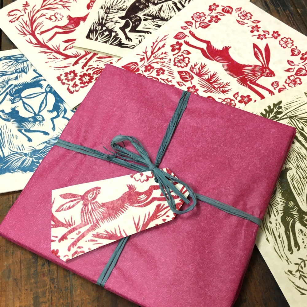 Hares  -  card pack