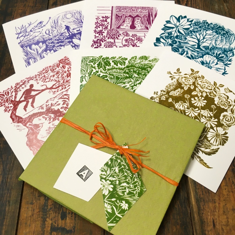 Gardens & Plants  -  card pack A