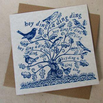 when birds do sing (blue)
