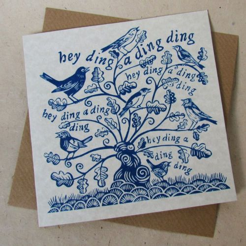 when birds do sing (blue)