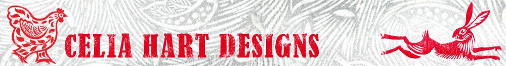 Celia Hart designs, site logo.