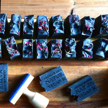 Black Rose Charcoal Soap
