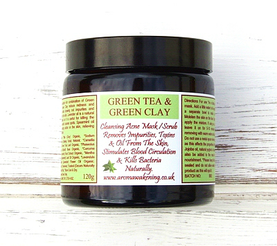 Green Tea & Green Clay Mask