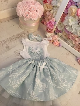 The Blue Floral