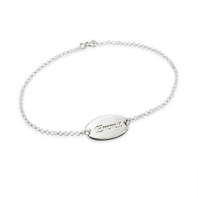 Children's Silver Name Bracelet