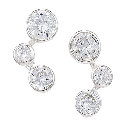 CZ Constellation Earrings