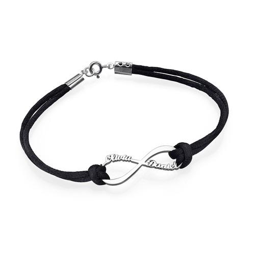 Infinty Name Cord Bracelet