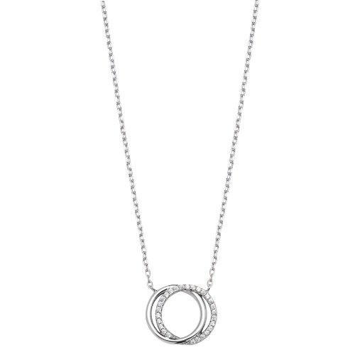 Intertwined Circle Necklace