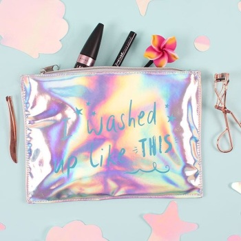 Washed Up Like This Make Up Bag