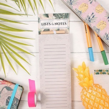 Tropical Shopping List