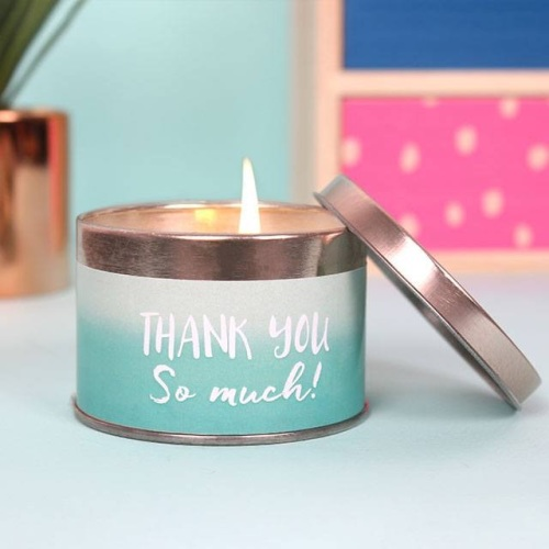 'Thank You' Candle Tin