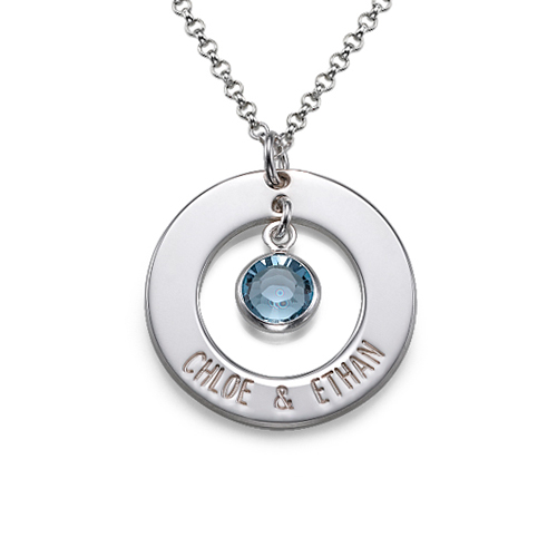 Couples Sterling Silver Necklace