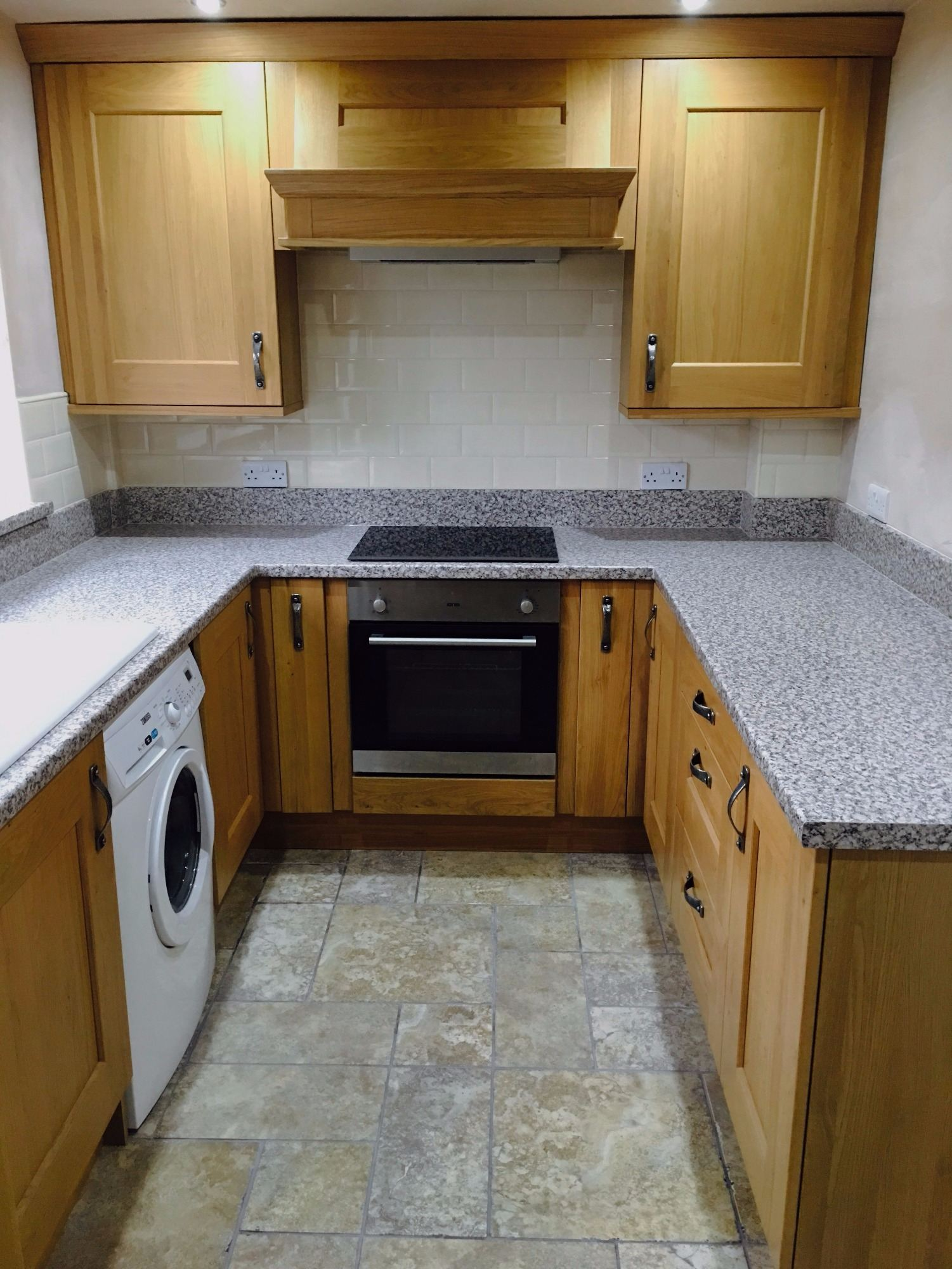 rustic wood kitchen fitters derbyshire