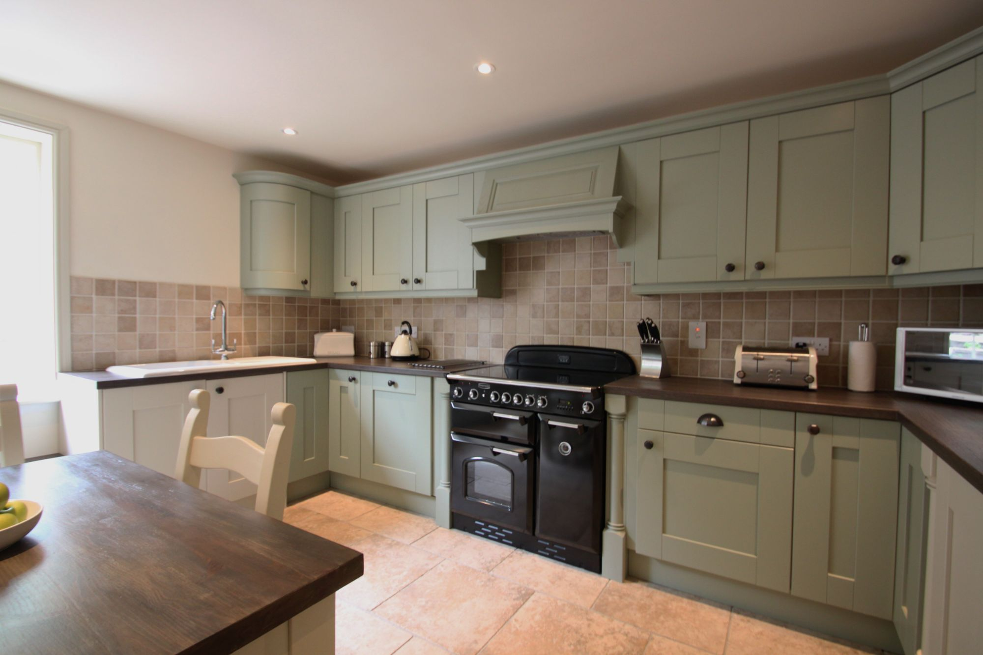 cottage style kitchen installation shipley derbyshire