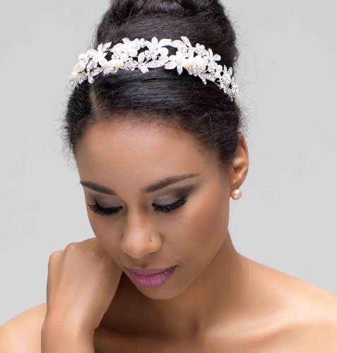 BELLA (PEARLS AND CRYSTALS) BRIDAL HEADBAND